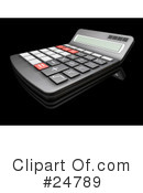 Calculator Clipart #24789 by KJ Pargeter