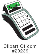 Calculator Clipart #29239 by erikalchan