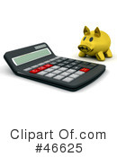 Calculator Clipart #46625 by KJ Pargeter