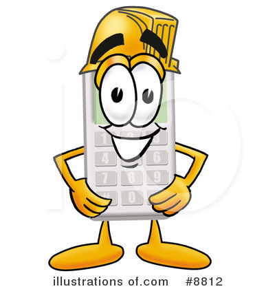 Calculator Clipart #8812 by Toons4Biz