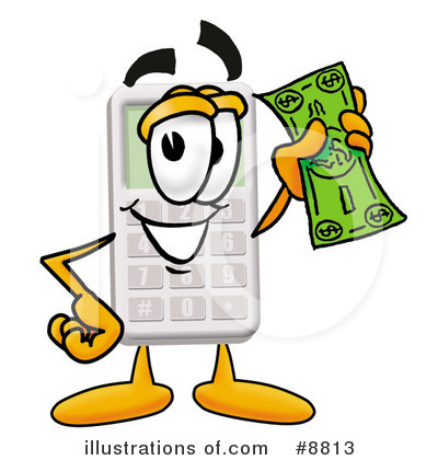 Calculator Clipart #8813 by Toons4Biz