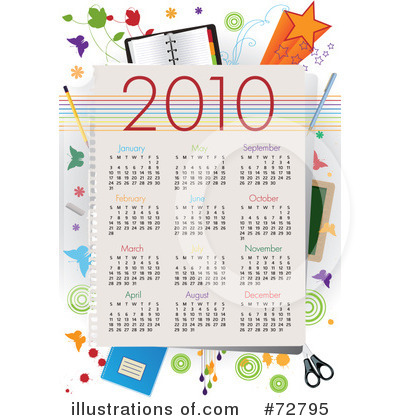 Day Planner Clipart #72795 by Eugene