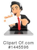 Call Center Clipart #1445596 by Texelart