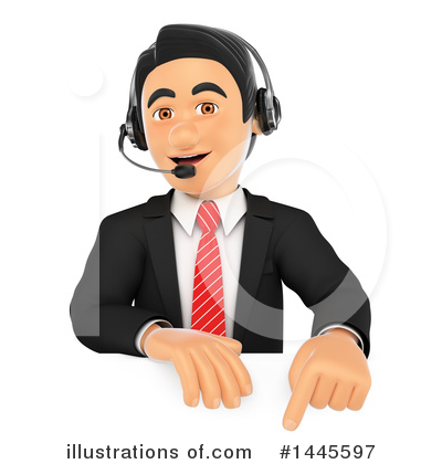 Call Center Clipart #1445597 by Texelart