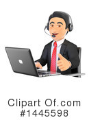 Call Center Clipart #1445598 by Texelart