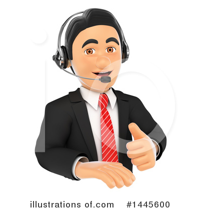 Royalty-Free (RF) Call Center Clipart Illustration by Texelart - Stock Sample #1445600