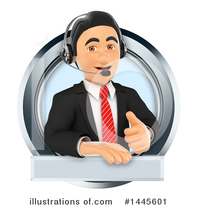 Royalty-Free (RF) Call Center Clipart Illustration by Texelart - Stock Sample #1445601