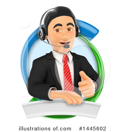 Call Center Clipart #1445602 by Texelart
