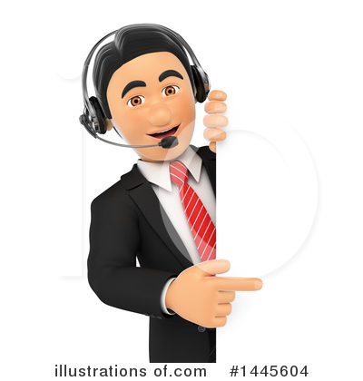 Call Center Clipart #1445604 by Texelart