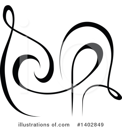 Calligraphic Clipart #1402849 by dero