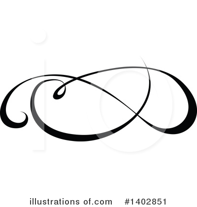 Calligraphic Clipart #1402851 by dero