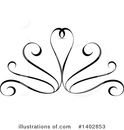 Calligraphic Clipart #1402853 by dero