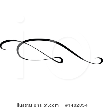 Calligraphic Clipart #1402854 by dero