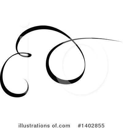 Calligraphic Clipart #1402855 by dero