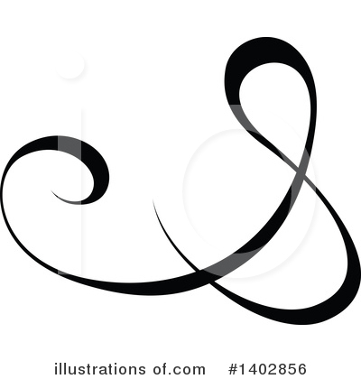 Royalty-Free (RF) Calligraphic Clipart Illustration by dero - Stock Sample #1402856