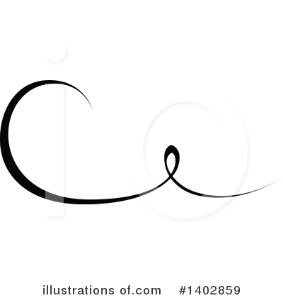 Calligraphic Clipart #1402859 by dero
