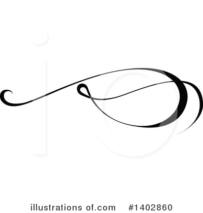 Calligraphic Clipart #1402860 by dero