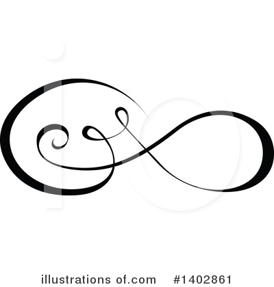 Calligraphic Clipart #1402861 by dero