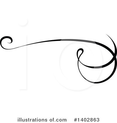 Calligraphic Clipart #1402863 by dero