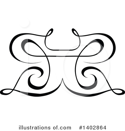 Calligraphic Clipart #1402864 by dero