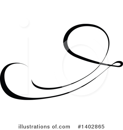 Calligraphic Clipart #1402865 by dero