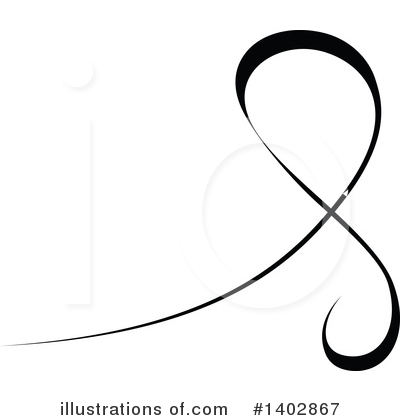 Calligraphic Clipart #1402867 by dero