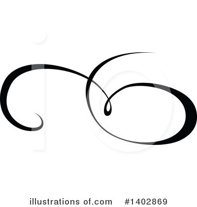 Calligraphic Clipart #1402869 by dero
