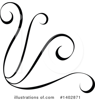 Calligraphic Clipart #1402871 by dero