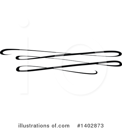 Calligraphic Clipart #1402873 by dero
