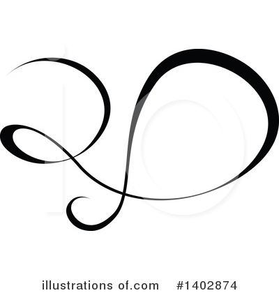 Calligraphic Clipart #1402874 by dero