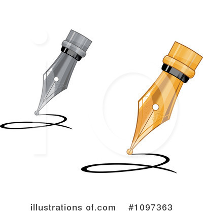 Writing Clipart #1097363 by Vector Tradition SM