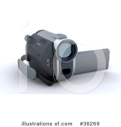 Camcorder Clipart #36269 by KJ Pargeter