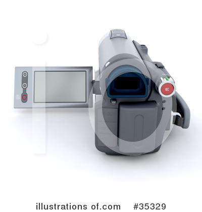 Camcorder Clipart #35329 by KJ Pargeter