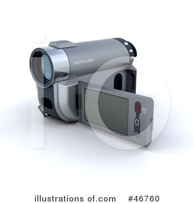 Camcorder Clipart #46760 by KJ Pargeter