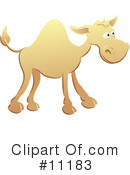 Camel Clipart #11183 by AtStockIllustration