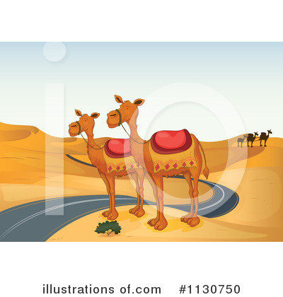 Camel Clipart #1130750 by Graphics RF