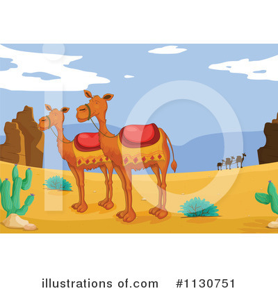 Camel Clipart #1130751 by Graphics RF