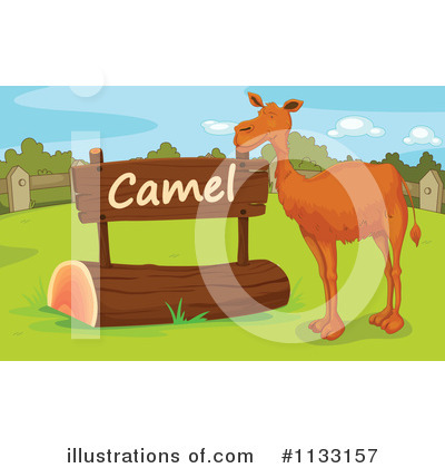 Camel Clipart #1133157 by Graphics RF