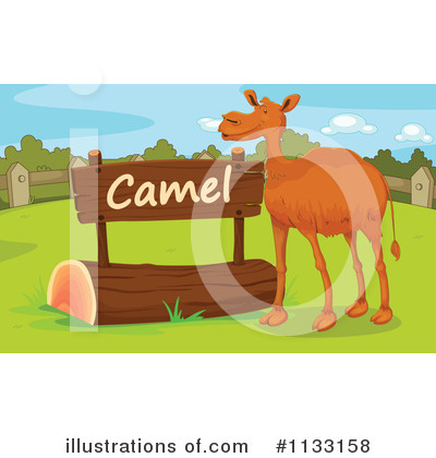 Camel Clipart #1133158 by Graphics RF