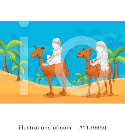 Royalty-Free (RF) Camel Clipart Illustration by Graphics RF - Stock Sample #1139650