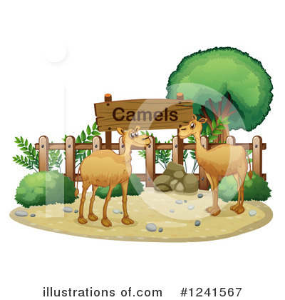 Camel Clipart #1241567 by Graphics RF