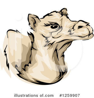 Camel Clipart #1259907 by BNP Design Studio