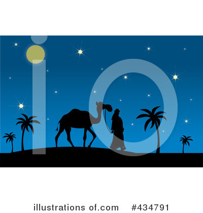 Royalty-Free (RF) Camel Clipart Illustration by Pams Clipart - Stock Sample #434791