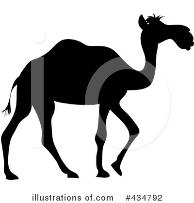 Royalty-Free (RF) Camel Clipart Illustration by Pams Clipart - Stock Sample #434792