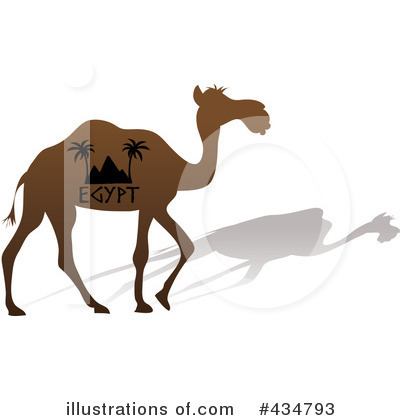 Camel Clipart #434793 by Pams Clipart
