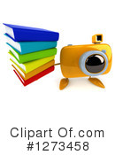 Camera Character Clipart #1273458 by Julos