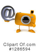 Camera Character Clipart #1286594 by Julos