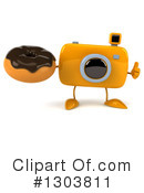 Camera Character Clipart #1303811 by Julos