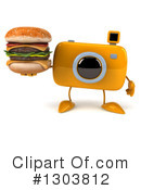 Camera Character Clipart #1303812 by Julos