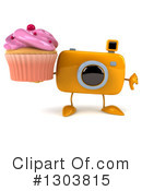 Camera Character Clipart #1303815 by Julos